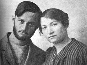 Nili - Avshalom Feinberg and Sara Aharonson of the Nili spy ring, 1916