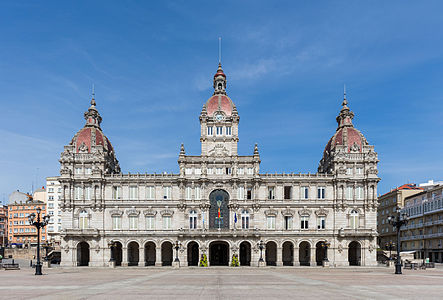 City hall, A Coruña, Spain