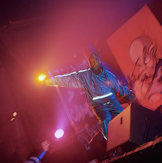 AZ (rapper) - AZ in Hamburg, Germany in 1997