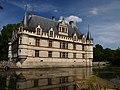 Azay Le Rideau Le Château Vue n°5.JPG