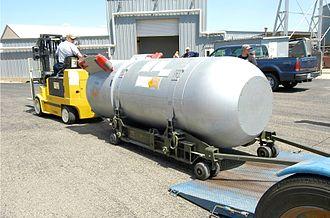 B53 nuclear bomb - Image: B53 at Pantex