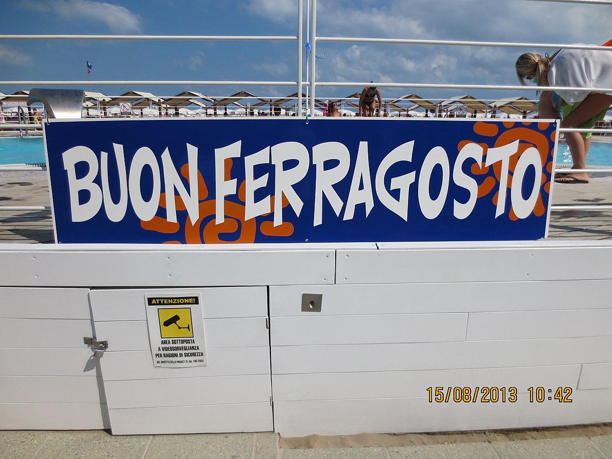 Ferragosto wikipedia for Bagni stella marina cattolica