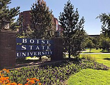 Boise State West Entrance