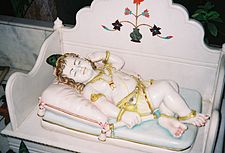 Baby Krishna Sleeping Beauty