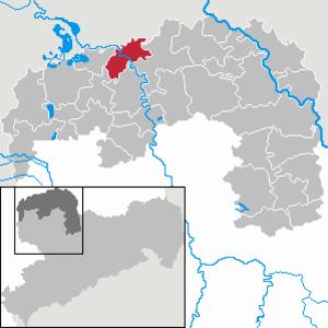 Bad Düben - Image: Bad Düben in TDO