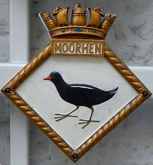 Moorhen - Badge of HMS ''Moorhen''