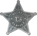 Secret Service badge (1875–1890)