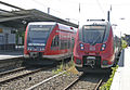 Bahnhof Hennigsdorf (b Berlin) 01 Talent 2 und GTW.JPG