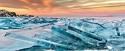 Baikal ice on sunset.jpg