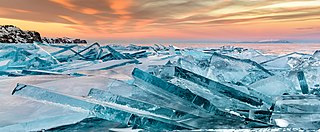 Baikal ice on sunset.jpg
