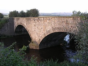 Balmuildy - Balmuildy Bridge - on the Glaswegian section of the Antonine Wall