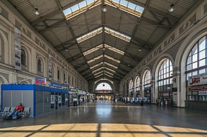 Baltiysky Railway station - Image: Baltiysky Rail Terminal Waiting Hall