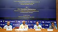 Bandaru Dattatreya addressing at the launch of the facility for filing online single return under the 8 Central rules through the Sharm Suvidha Portal, in New Delhi on April 24, 2015.jpg