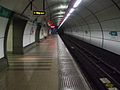 Bank station DLR platform 10 look east.JPG
