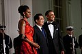 Barack and Michelle Obama welcome President Hu Jintao of China, 2011.jpg