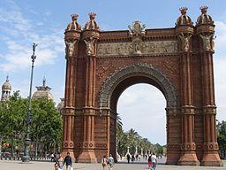 Barcelona.Triumphbogen