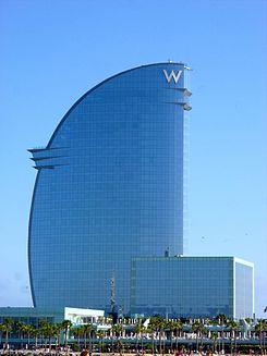 W barcelona wikipedia la enciclopedia libre for Hotel barcelona w
