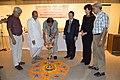 Barun Kumar Sinha - Inaugural Lamp Lighting - Photo Art Exhibition & Symposium - Indian Museum - Kolkata 2013-03-01 5048.JPG