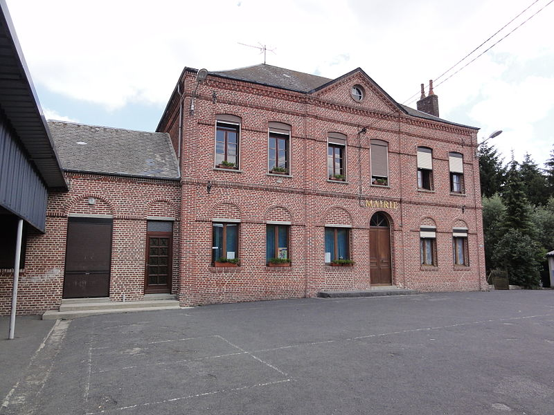 Barzy-en-Thiérache (Aisne, Fr) mairie