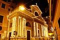 Basilica di Rapallo-facciata illuminata.JPG
