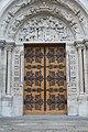 Basilique St Denis façade ouest St Denis Seine St Denis 15.jpg