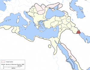 Basra Eyalet - Image: Basra Eyalet, Ottoman Empire (1609)