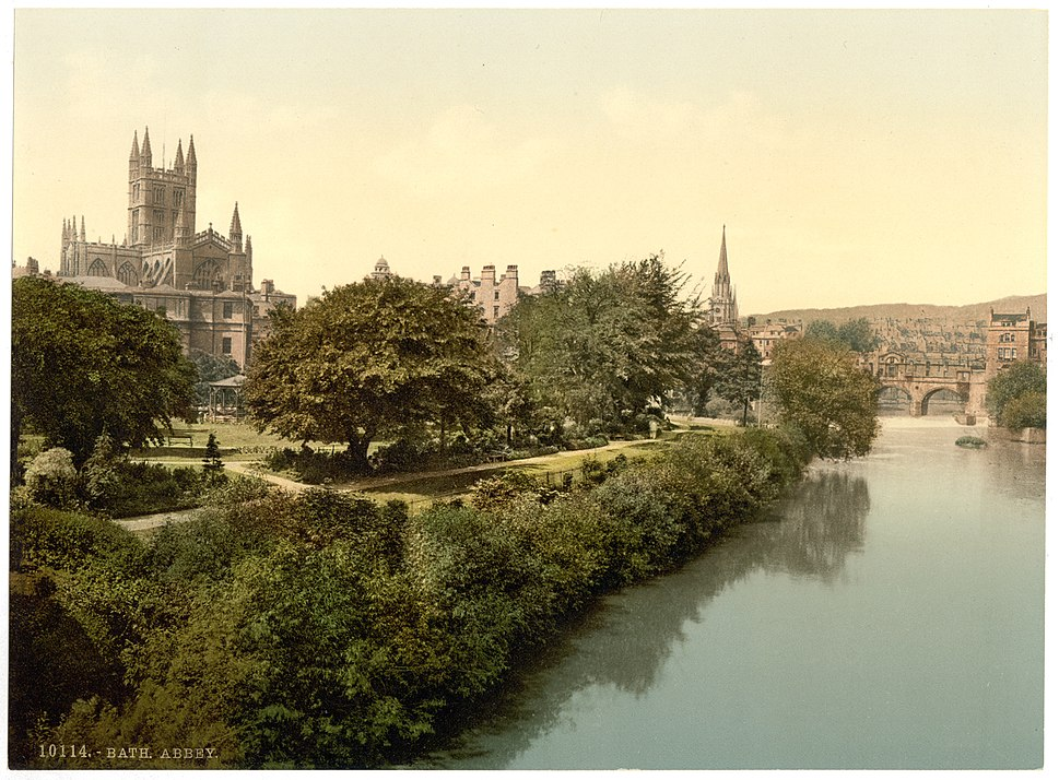 Bath Abbey c1900