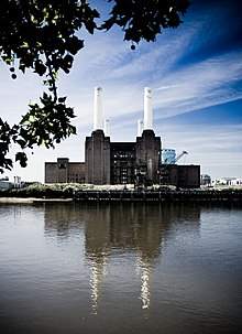 The Battersea Power Station Of England Has Become An Iconic Structure Through Adaptive Reuse And Been Featured In Many Forms Culture During Its