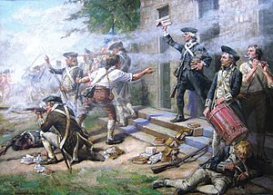Battle of Springfield (1780) - Image: Battle of Springfield NJ 1780