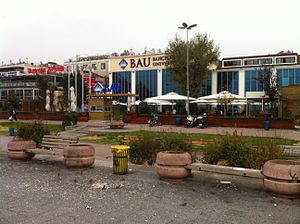 Bahçeşehir University - View from in front of the university.