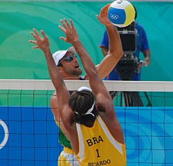 Beach volley at the Beijing Olympics - Brazilian Semi-final (1).jpg