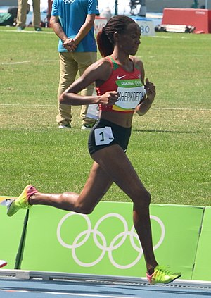 Beatrice Chepkoech - Chepkoech competing at the 2016 Summer Olympics