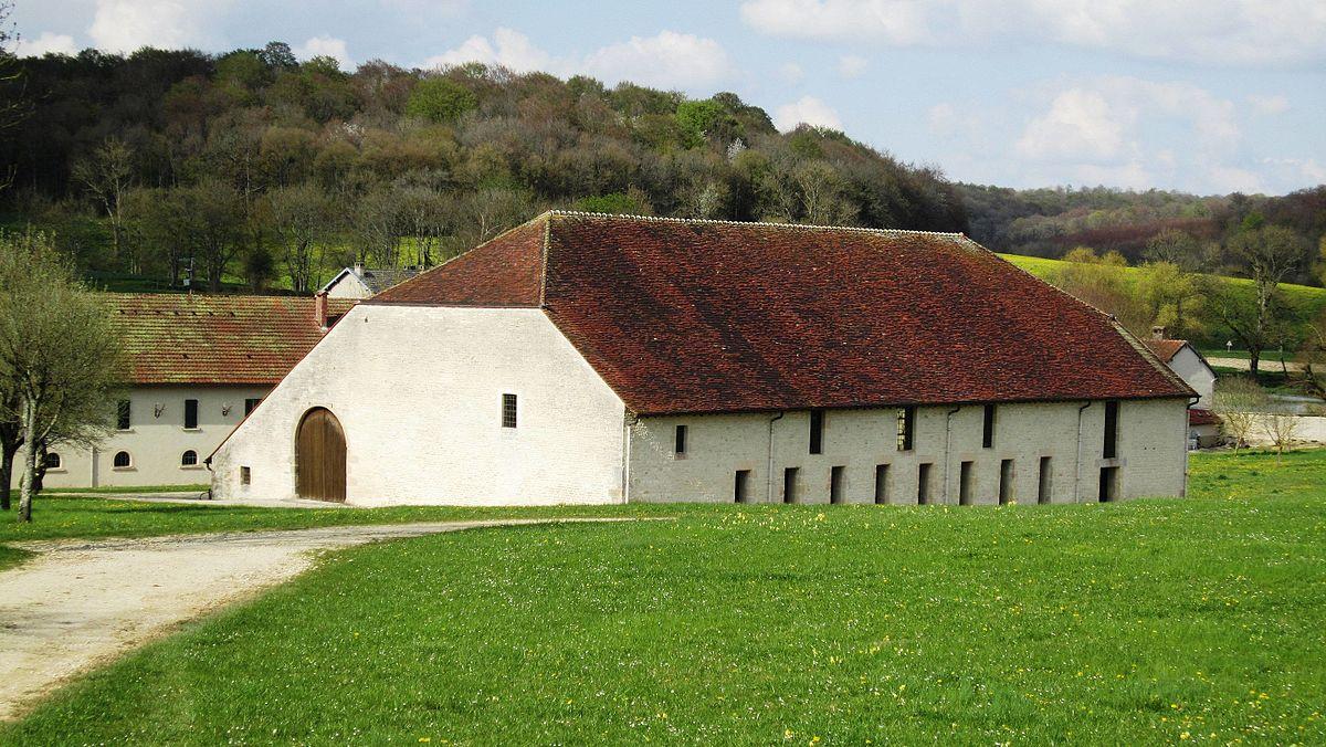 Grange cistercienne de riel les eaux wikip dia - Auberge des collines granges les beaumont ...