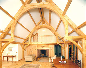 Hammerbeam roof - Image: Beautiful Hammer Beam
