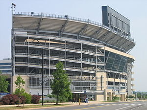 University Park, Pennsylvania - Image: Beaver Stadium OUTSIDE