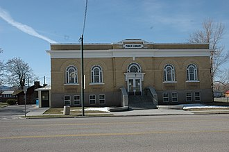 National Register of Historic Places listings in Beaver County, Utah - Image: Beaver Utah Library