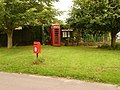 Bedchester, postbox № SP7 37 and phone - geograph.org.uk - 1405787.jpg