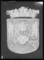 Begravningsbanér, Södra (Egentliga) Finland, fört i Karl X Gustavs begravningståg 1660 - Livrustkammaren - 44582.tif