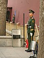 Beijing - soldier at entrance to Tiananmen Square pic02.jpg