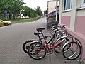 Belarus-minsk-two-bicycles-on-a-lock.jpg