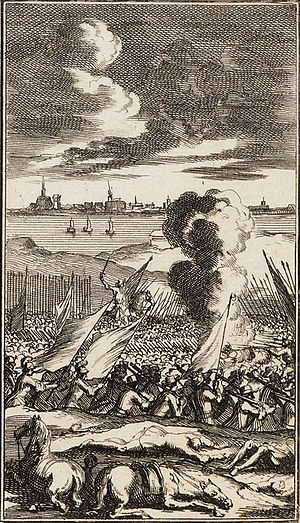 Siege of Geertruidenberg (1593) - Siege of Geertruidenberg; by Jan Luyken