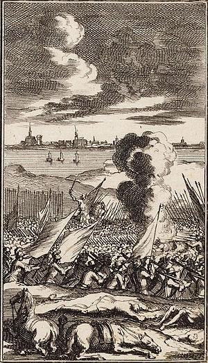 Siege of Geertruidenberg (1593) - Siege of Geertruidenberg; by Jan Luyken