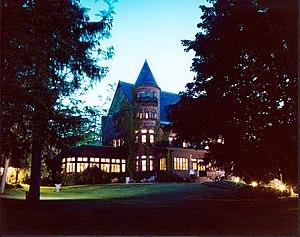 National Register of Historic Places listings in Ontario County, New York - Image: Belhurst Castle