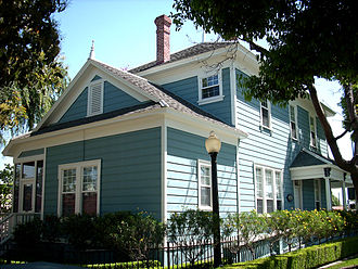 Bell, California - James George Bell House