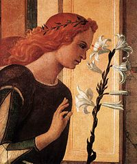 Bellini, Giovanni - Angel Announcing, detail.jpg
