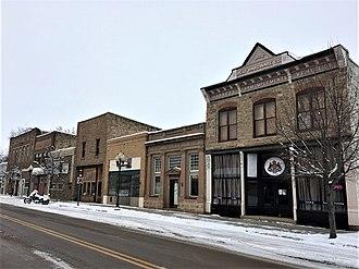 Belt, Montana - Image: Belt Commercial HD NRHP 04001380 Cascade County, MT