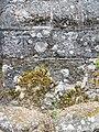 Bench Mark, St Michael's Church, Chagford - geograph.org.uk - 2002312.jpg