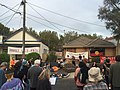 Bendigo street housing campaign houses number 2 and 4 street protest March 31 2016.jpg