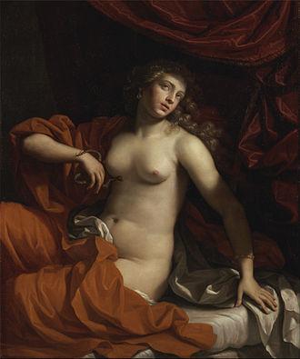 Benedetto Gennari II - Cleopatra