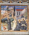 Benozzo Gozzoli - The Parable of the Holy Trinity (scene 12, south wall) - WGA10304.jpg